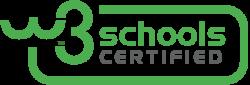 Schoolsw3 сертификация